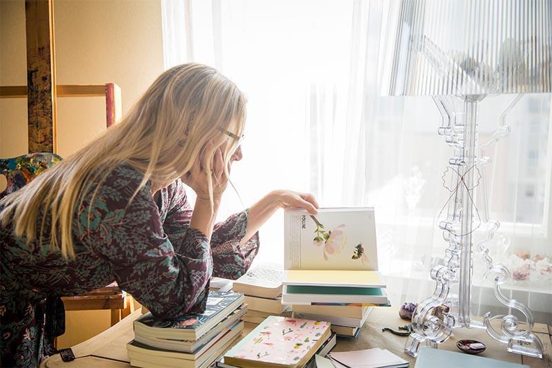 Luovuuskouluttaja Leena Vainio